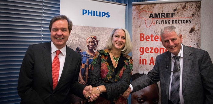 Philips and AMREF Flying Doctors announce strategic partnership to improve healthcare in Africa