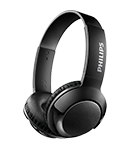 Philips BASS+ Headphones with mic SHB3075BK