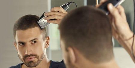raka håret själv