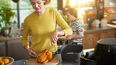 Enjoy the power of healthy and tasty homemade food with Philips Kitchen Appliances