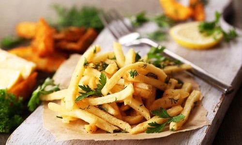 Cartofi prajiti in sarcina forum