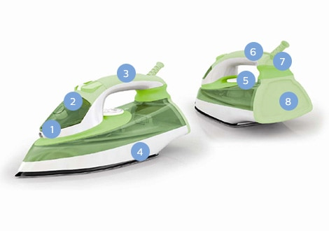 Steam iron GC 37 series