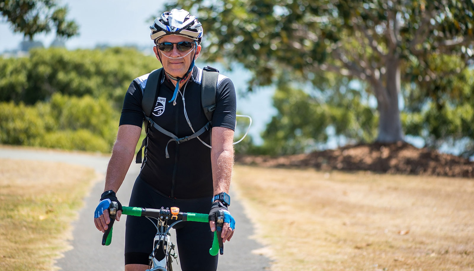 How an athlete's passion helps him live with COPD - Blog | Philips