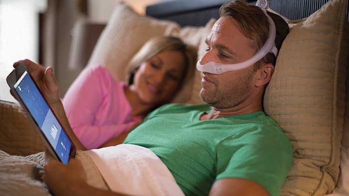 Engaging sleep apnea patients in their own care