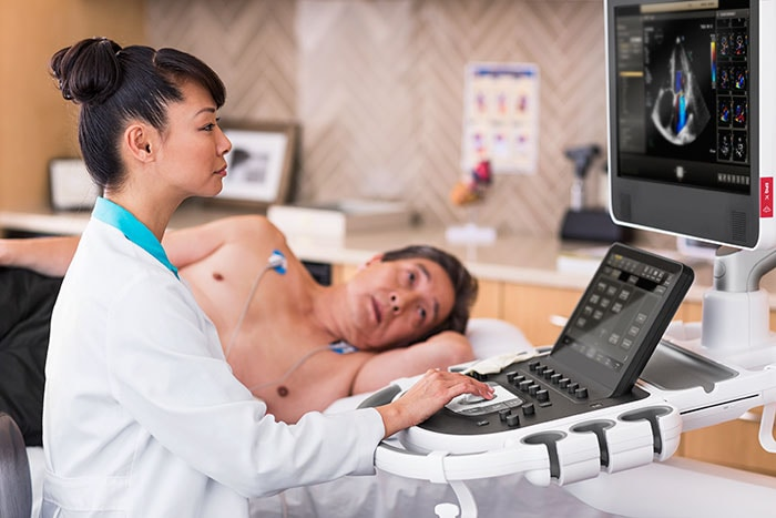 Philips EPIQ CVx is specifically designed to increase diagnostic confidence and simplify workflow for clinicians.