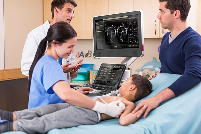 Philips EPIQ CVx is designed to help cardiologists deliver better care for their patients, including pediatric patients.