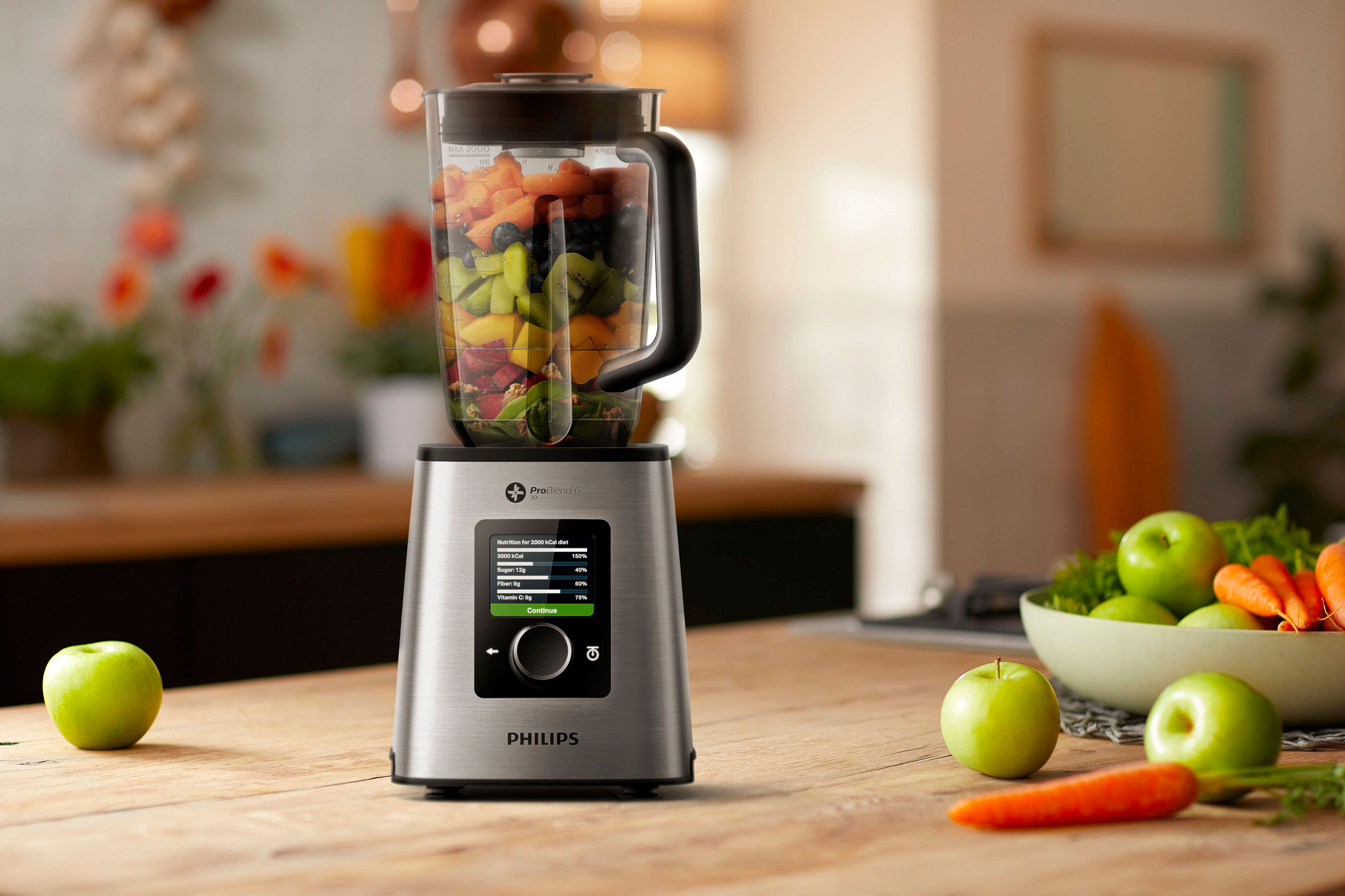 Philips new High Speed Connected Blender - News | Philips