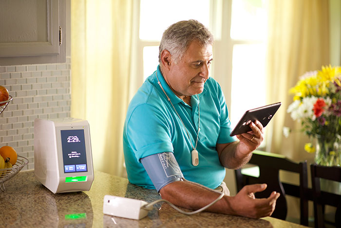 Remote patient monitoring helps improve the patient experience and connect patients with their caregivers.
