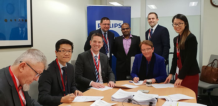 Philips signs long-term strategic partnership in Australia