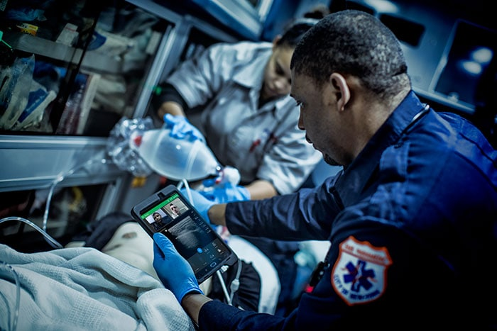 Philips Lumify with Reacts is a valuable tool for emergency medical service providers with long transit times