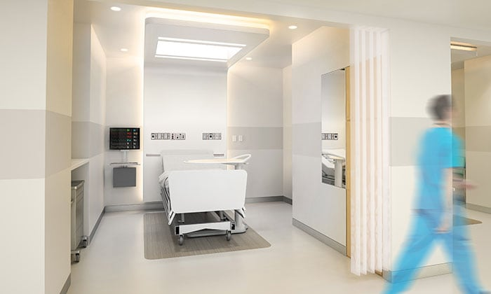 Philips' Ambient Experience preparation & recovery bay