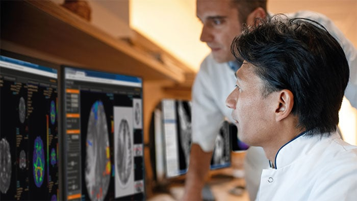 Download image (.jpg) Philips IntelliSpace Discovery Research platform supports development and deployment of Artificial Intelligence assets in radiology (opens in a new window)