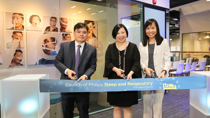Philips opens Southeast Asia's first Sleep and Respiratory Education Center in Singapore