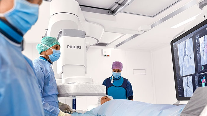 Philips launches Azurion with FlexArm to set new standard for the future of image-guided procedures