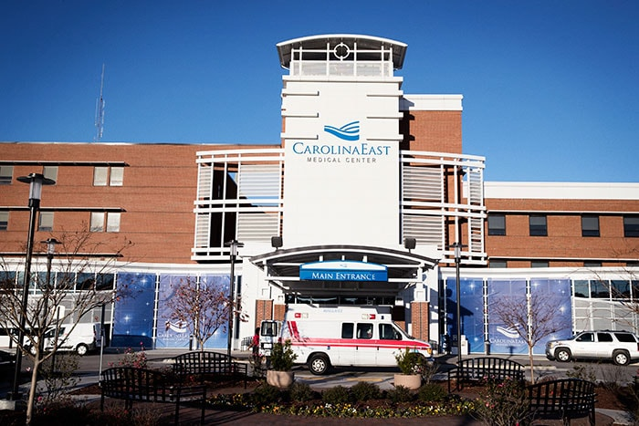 Download image (.jpg) CarolinaEast Medical Center  (opens in a new window)