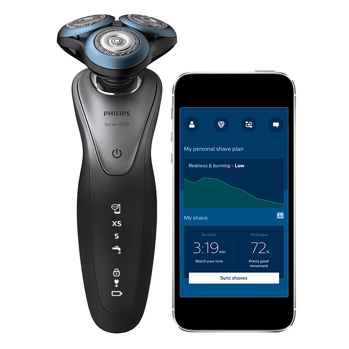 Philips Shaver series 7000, the world's first personalized and AI-powered shaving solution