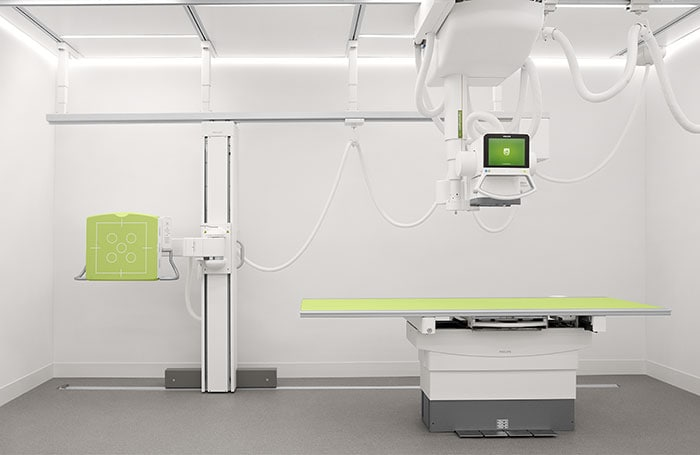 The Philips DigitalDiagnost C90 system.