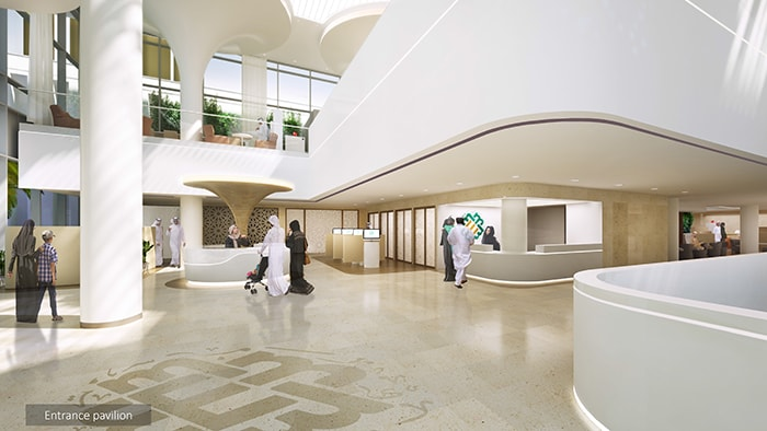 Middle East community hospital concept