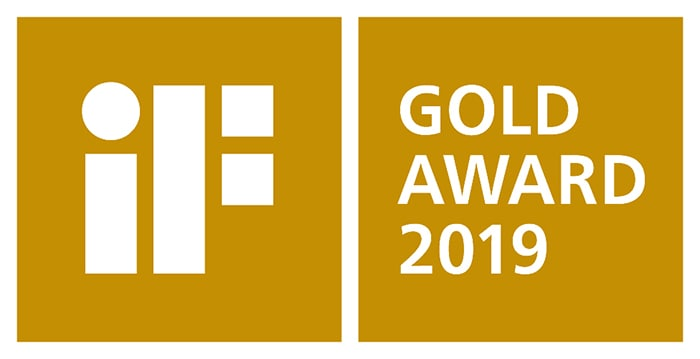 iF Design Gold Award logo