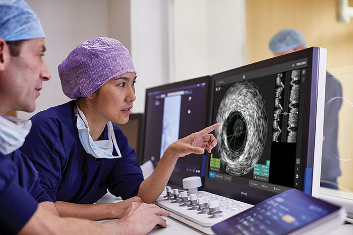Philips IntraSight offers a comprehensive suite of clinically proven iFR, FFR, IVUS and co-registration modalities to simplify complex interventions and speed routine procedures.