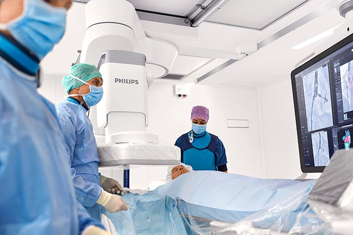 FlexArm is the latest addition to the Philips Azurion portfolio