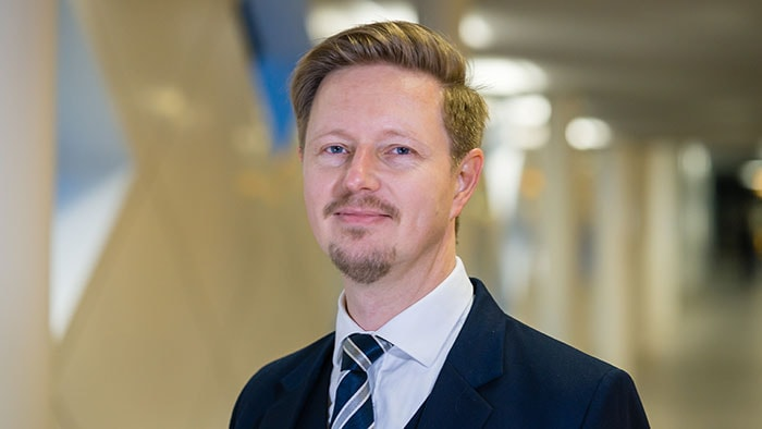 Philips Global Head of Sustainability Robert Metzke speaks at European Business Summit