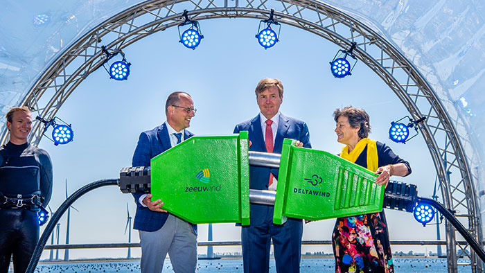 Opening of new Dutch wind farm puts Philips on course to becoming carbon neutral by 2020