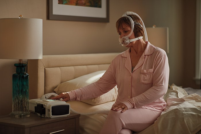 Download image (.jpg) Philips Ventilator BiPAP A40 EFL aims to abolish EFL automatically