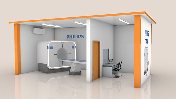 CT and X-Ray cabins to help fight the spread of COVID-19 in the Philippines