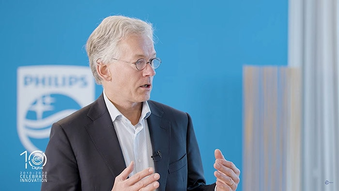 Philips CEO Frans van Houten's vision of Digital Wellbeing