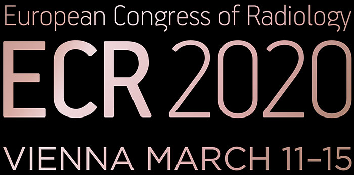 Download image (.jpg) European Congress of Radiology 2020 logo (opens in a new window)