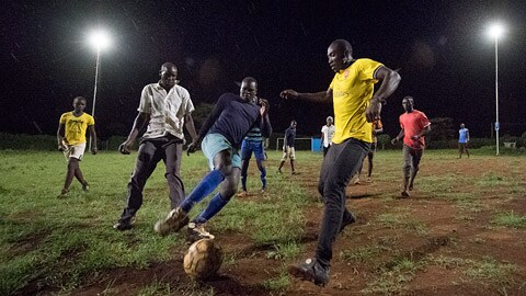 Philips Lighting, a Royal Philips (NYSE: PHG, AEX, PHIA) company and global leader in lighting, announces that a Solar Soccer match at its Community Light Center outside Nairobi marked the unofficial start of the second United Nations Environment Assembly.