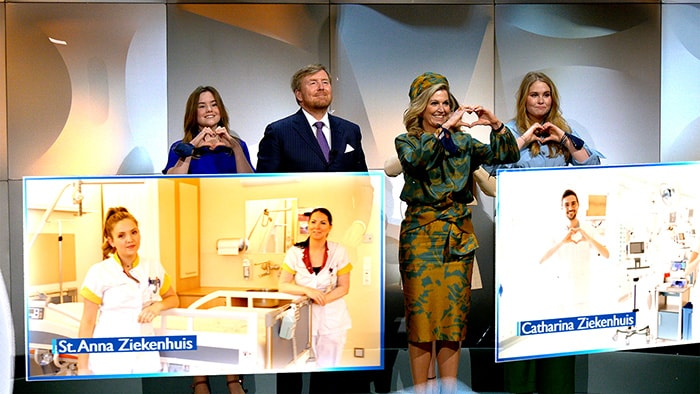 The Netherlands Royal Family steps into the future of healthcare during Dutch King's Day 2021