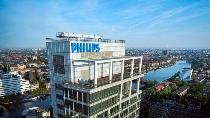 Philips provides update on its closing share price on Euronext Amsterdam on October 19, 2020