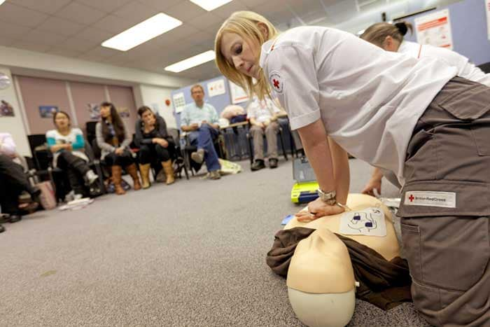 Improving the lives of vulnerable people with first aid education