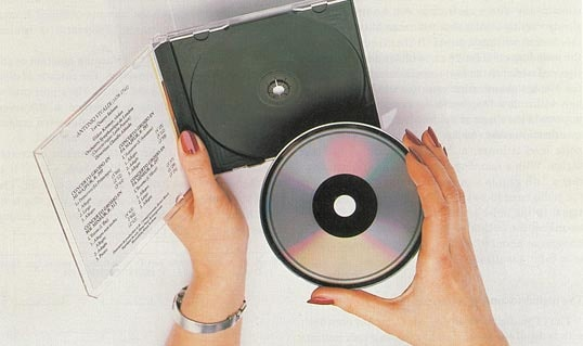 Compact Disc Jewel Case