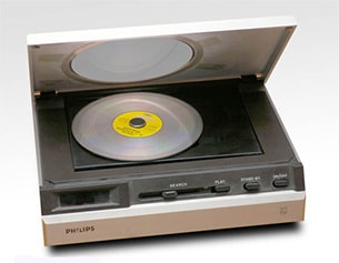 Philips Compact Disc prototype player