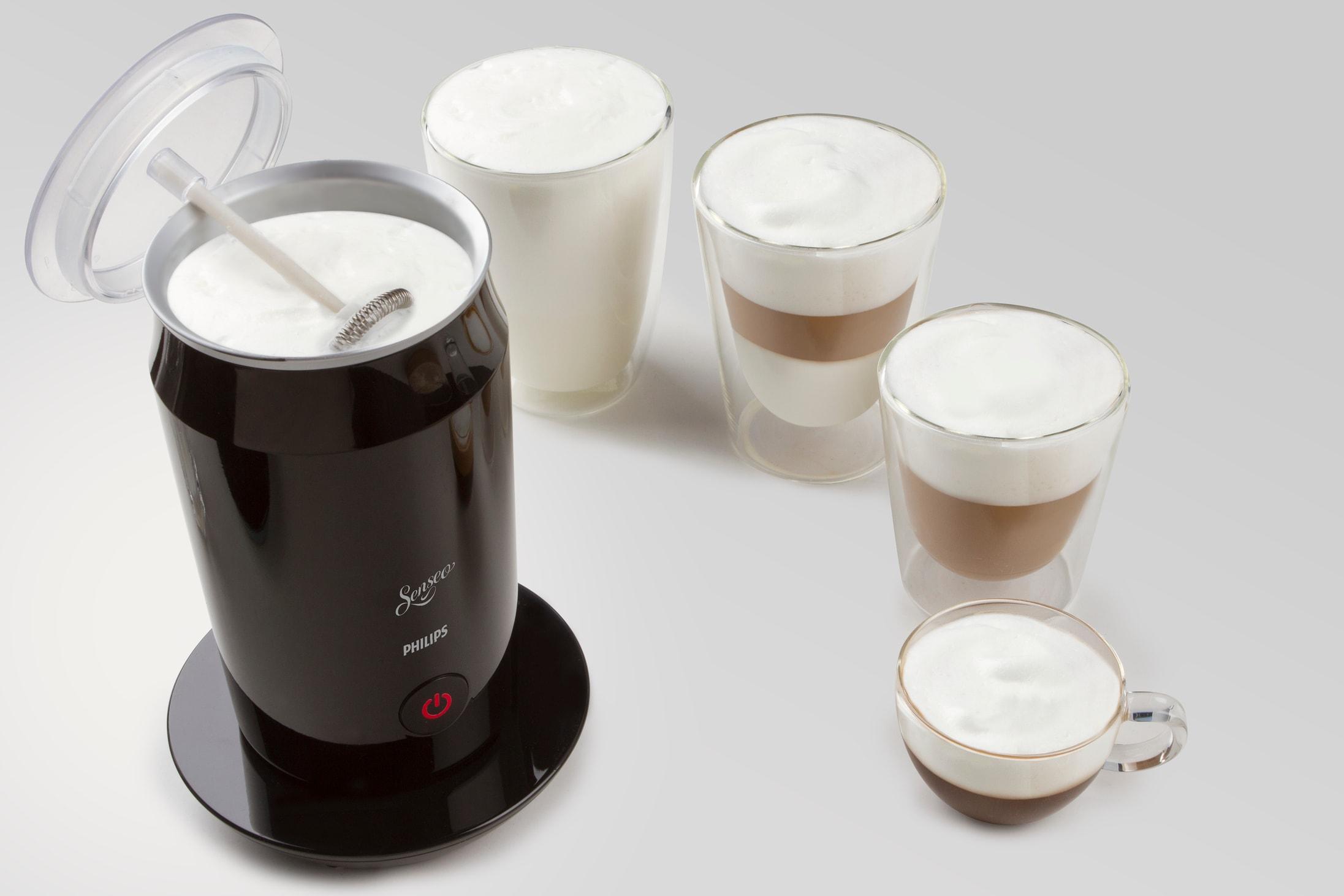 der neue philips senseo milk twister liefert perfekten milchschaum auf knopfdruck. Black Bedroom Furniture Sets. Home Design Ideas