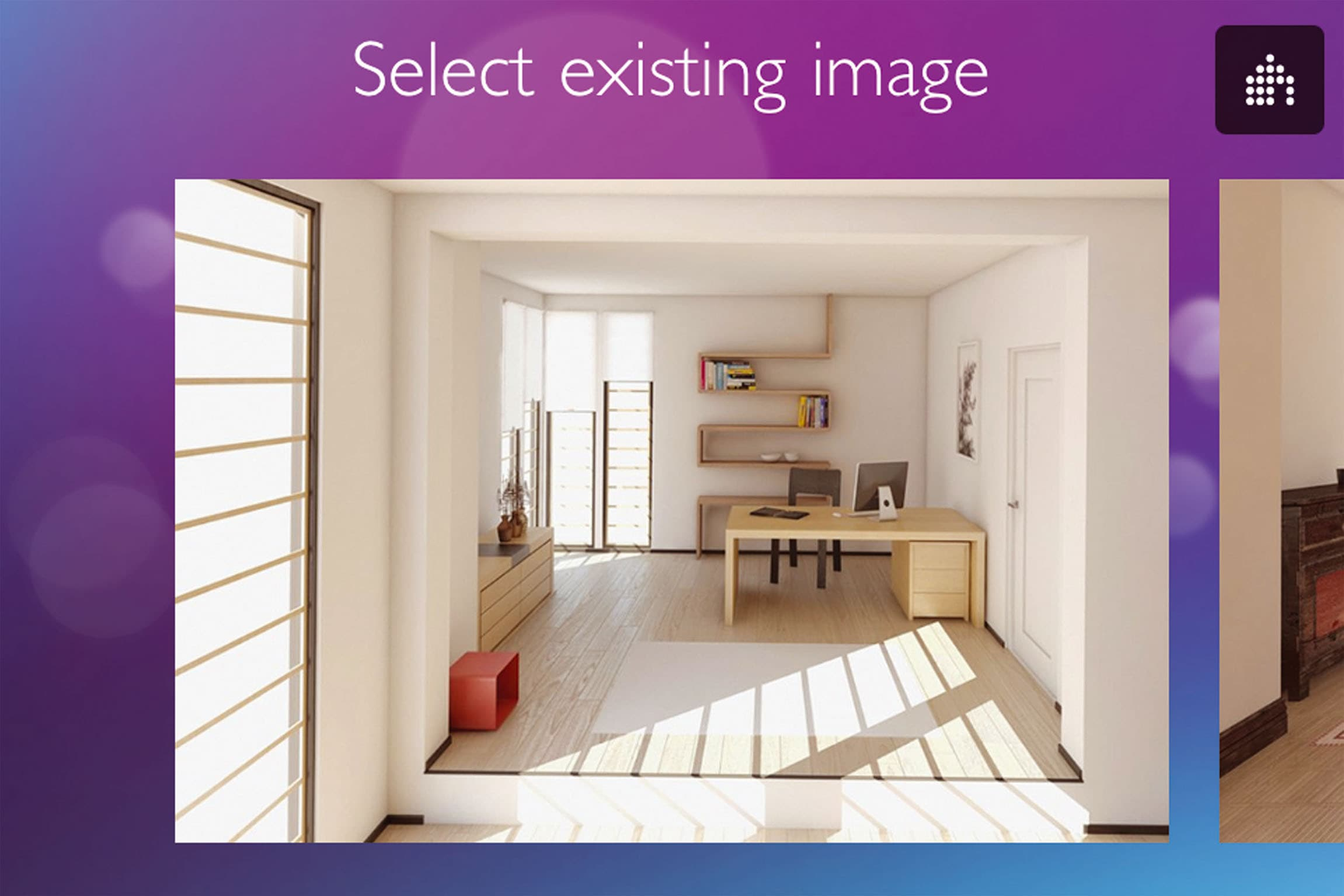 philips app f r die lichtplanung f r zu hause. Black Bedroom Furniture Sets. Home Design Ideas