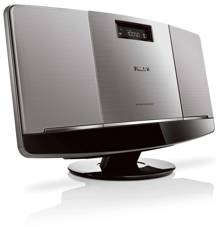 intuitiv und schnell verbunden philips pr sentiert zwei neue mini stereoanlagen. Black Bedroom Furniture Sets. Home Design Ideas