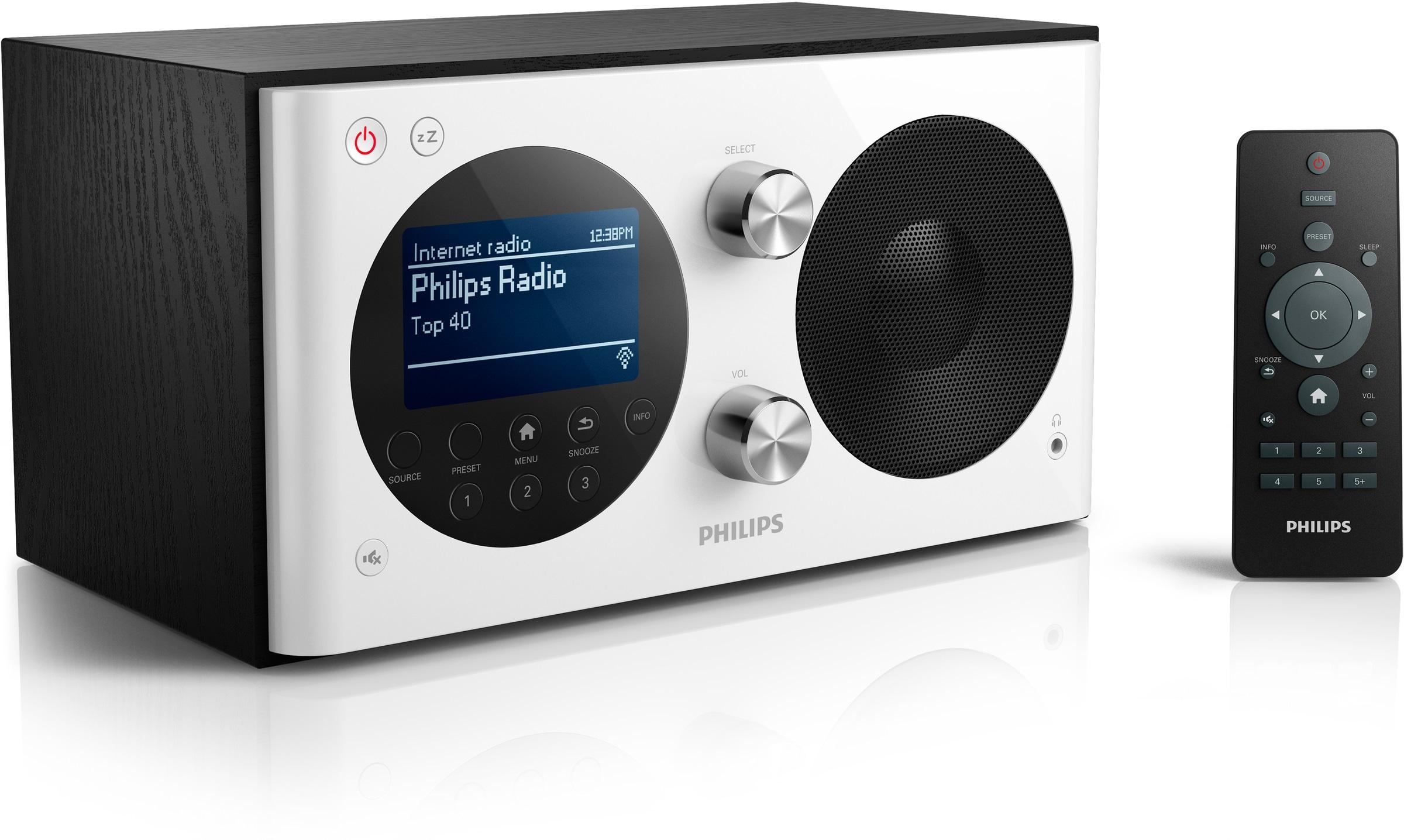 zugang zu weltweiten radiostationen das philips internetradio ae8000 mit dab und ukw