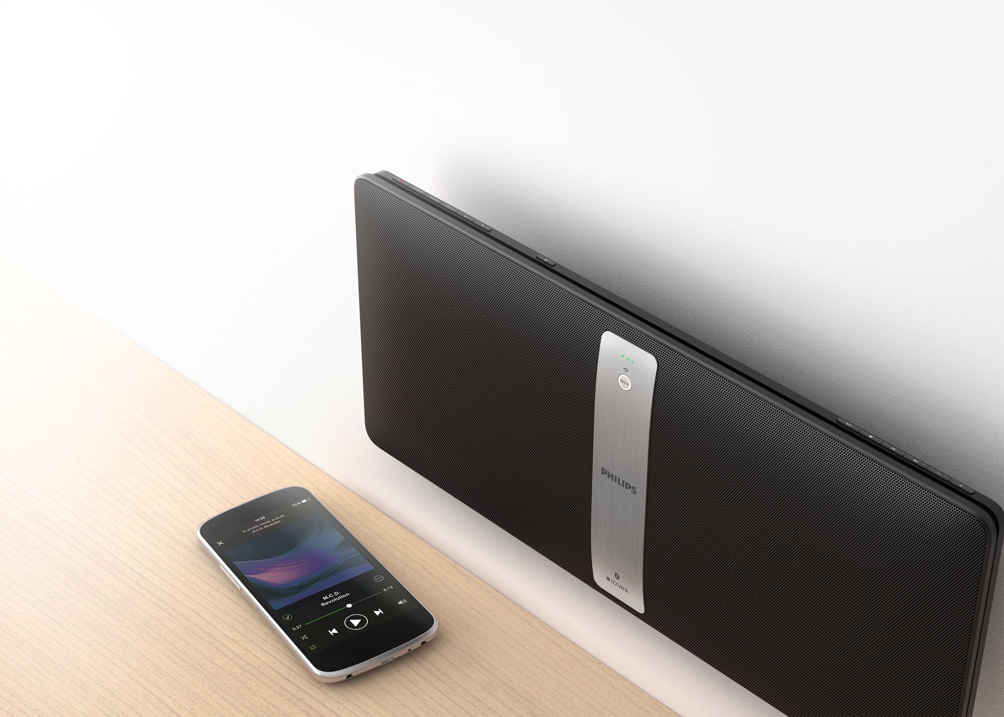 musik in alle r ume beamen mit der lautsprecherreihe philips izzy wird multiroom so einfach wie nie. Black Bedroom Furniture Sets. Home Design Ideas