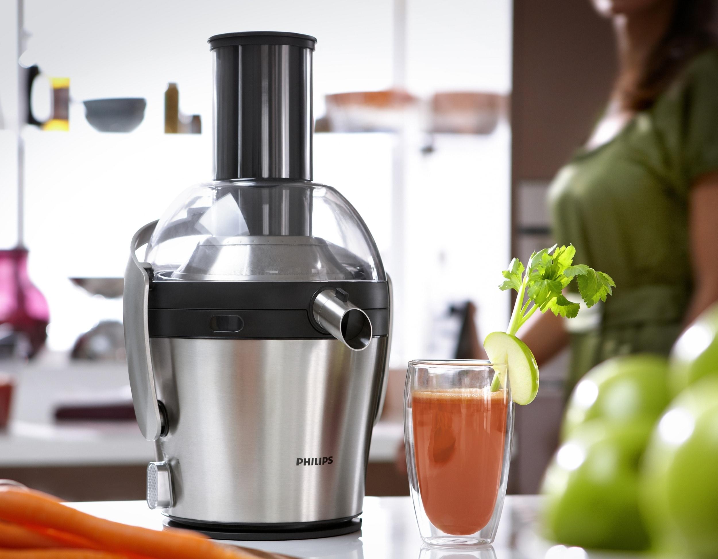 maximale ausbeute – minimale reinigung der neue, edle  ~ Entsafter Gemüse