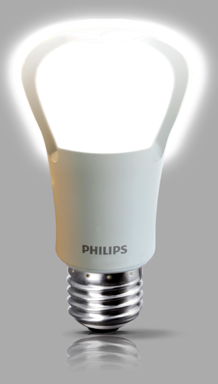 philips pr sentiert die weltweit erste led lampe als ersatz f r eine 75 watt gl hlampe. Black Bedroom Furniture Sets. Home Design Ideas