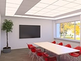 Soundlight Comfort Ceiling Office Lighting foto 1