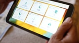 Philips Radboudumc cloud based monitoring COPD tablet with eCare app