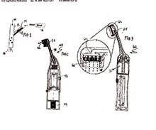 Philips Sonicare Airfloss Patent
