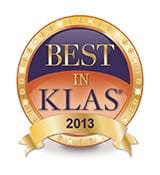 Philips IntelliSpace Portal has been named a Category Leader in Enterprise Advanced Visualization Software in the 2013 Best in KLAS: Software and Services report