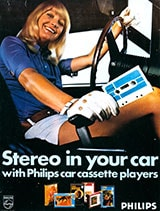 Cassette advertisement from 1971