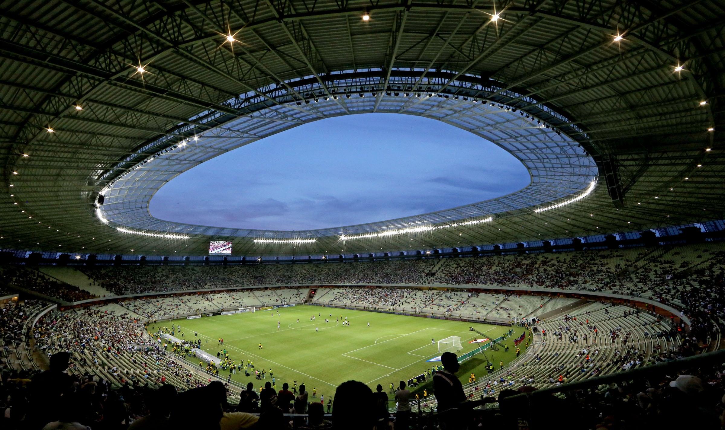 Brazil Football Stadiums Kick Off With Philips Lighting